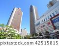 무사시코스기, 고층 아파트, 맑음 42515815