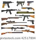 gun, vector, weapon 42517894