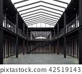 Loft style office space 3d render 42519143