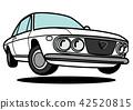 矢量 汽車 交通工具 42520815