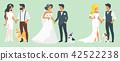couple, dog, marriage 42522238