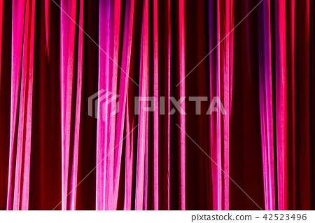 Texture background red curtain. 42523496