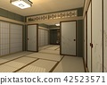 japanese-style room, room, japanese house 42523571