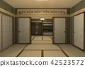 japanese-style room, room, japanese house 42523572