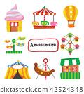 amusement vector collection design 42524348
