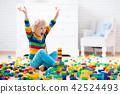 toy, child, blocks 42524493