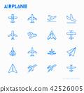 飞机 图标 矢量 42526005
