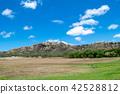 하와이 오아후 섬 주립 기념 공원 다이아몬드 헤드 분화구 42528812