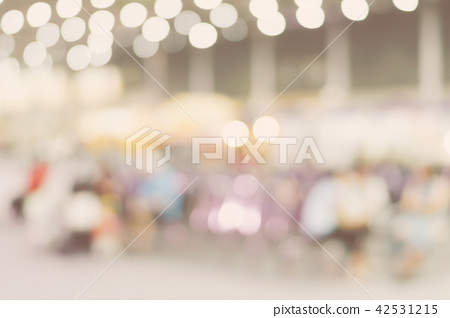 Blur image background of people in shopping mall. 42531215