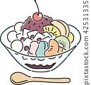 단맛, 디저트, 음식 42531335