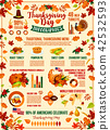 thanksgiving, infographic, autumn 42532593