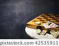 Various board games chess board, 42535913