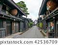 기후현 다카야마시 上三之 마치 오래된 상가 보존 지역 42536709