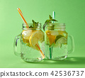 mint, lemonade, lime 42536737