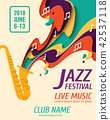 International Jazz Day vector background 42537118