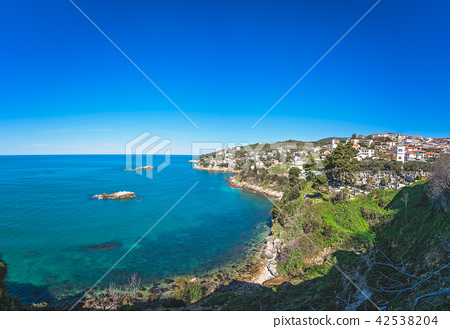 Adriatic coast in Ulcinj 42538204