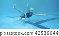 孩子們喜歡游泳 42539044