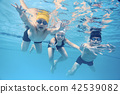 Children enjoy swimming 42539082