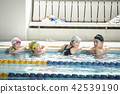 游泳的孩子 42539190