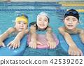 游泳儿童游泳 42539262