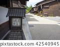narai-juku, nakasendou, post town 42540945
