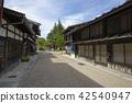 narai-juku, nakasendou, post town 42540947