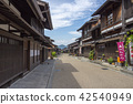narai-juku, nakasendou, post town 42540949