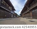 narai-juku, nakasendou, post town 42540955