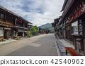 narai-juku, nakasendou, post town 42540962