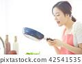 อาหารไลฟ์สไตล์หญิง 42541535