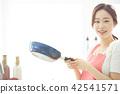 여성 라이프 스타일 요리 42541571