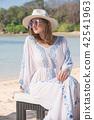 beach summer hat 42541963