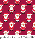 Xmas vector clipart set. 42545082