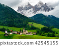 Beautiful landscape of Dolomites in Italy 42545155