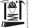 tool, hammer, helmet 42545983