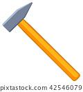 hammer, vector, tool 42546079