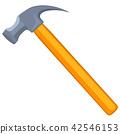 hammer, vector, tool 42546153