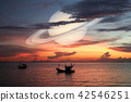Saturn back cloud sunset sky,Saturn near Earth 42546251