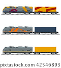 Types of Freight Train 42546893