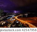雷 闪电 海事的 42547956