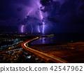 雷 闪电 海事的 42547962