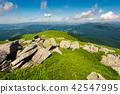 boulder, down, grassy 42547995