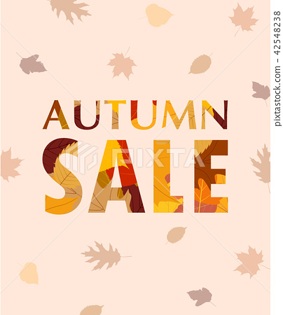 Autumn sale banner template  42548238
