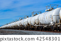 ตู้คอนเทนเนอร์ของรถไฟบรรทุกสินค้าระยะไกลข้ามทวีปอเมริกา 42548301