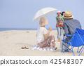 여행, 한국인, 노인 42548307