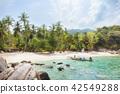 Asian tropical beach paradise in Thailand 42549288