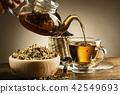 pouring tea 42549693