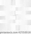 Abstract of clean black and white pattern square 42550016
