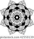 rosette vector pattern 42550139
