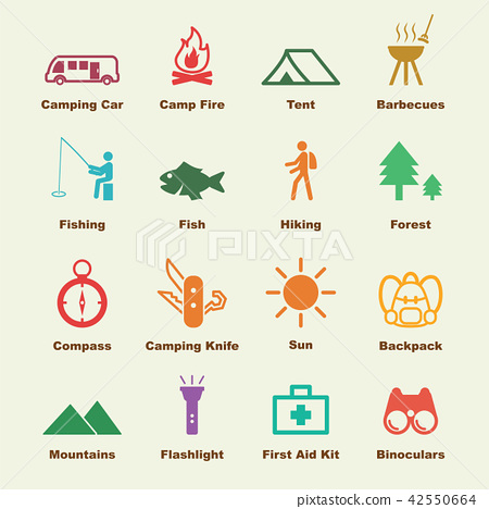 camping elements 42550664